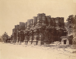 General view of the uncompleted south gopura of the Ramalingeshvara Temple, Rameswaram 10032333